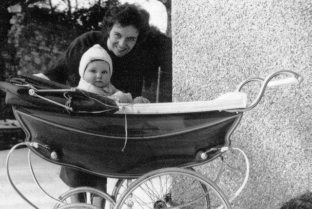 me & mum March 1965