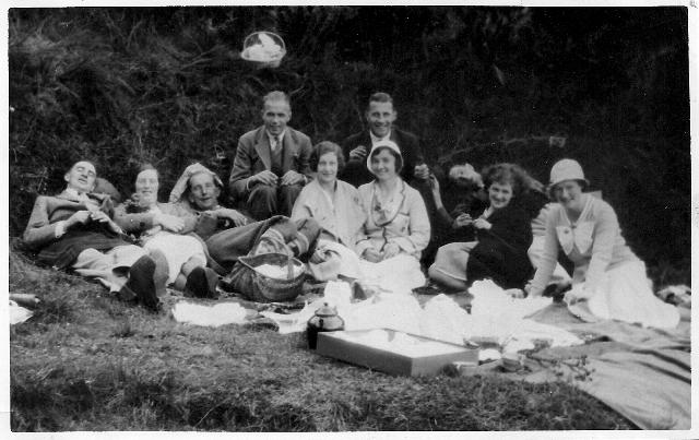 1920's picnic in Scotland