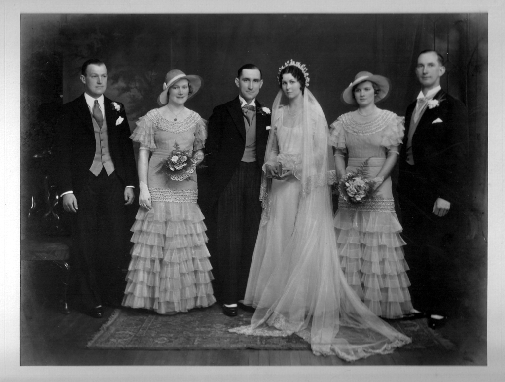 Ian Hardie & Alice Robertson Wedding 1933