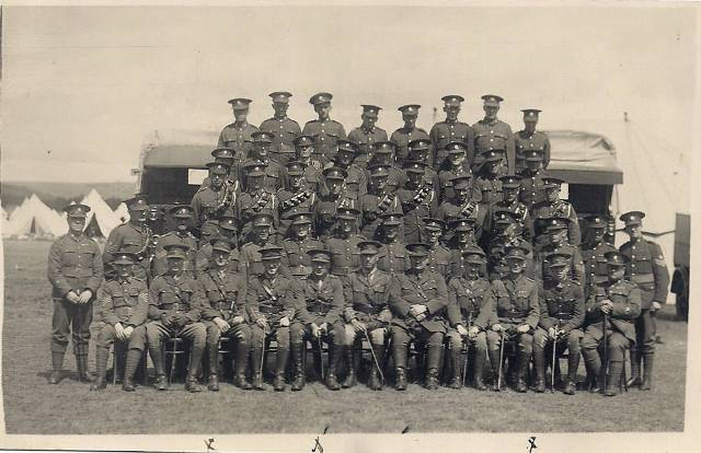 51st Highland Divisional Train R A S C (T) Montrose Camp 14th/28th July 1928