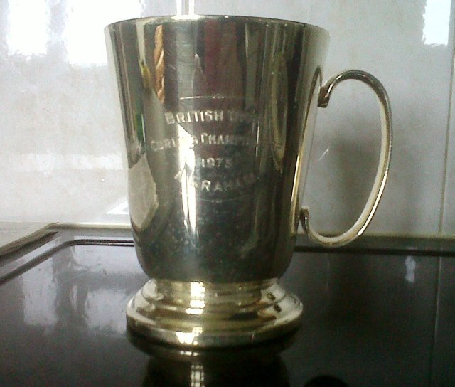 British Open Curling Championship 1975 A Graham - trophy
