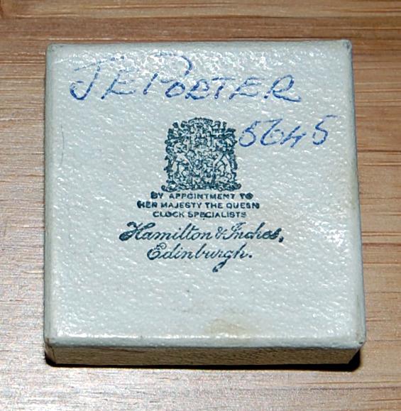 Hamilton & Inches jewellery box