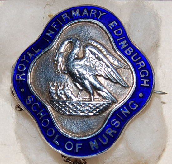 Royal Infirmary Edinburgh Pelican Badge