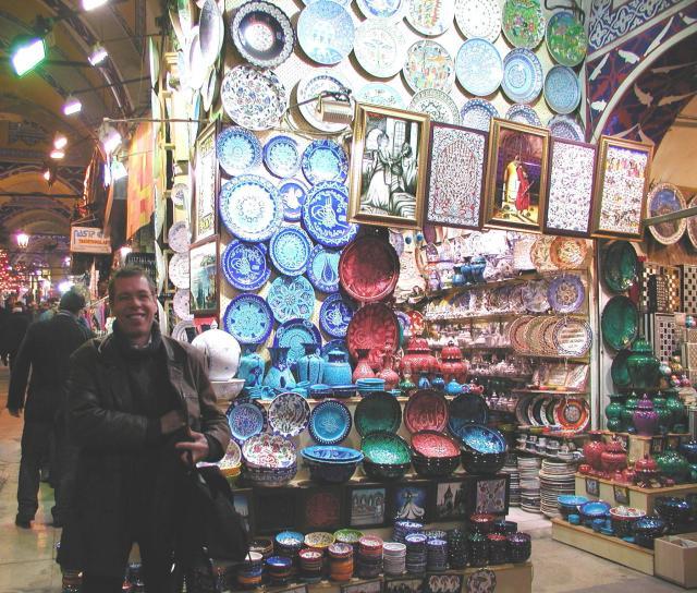 Grand Bazaar China Stall