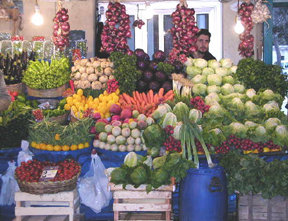 5 Grand Bazaar Fruit and Veg Stall