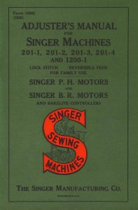 Singer-201-Service-Adjusters-Manual  SAM