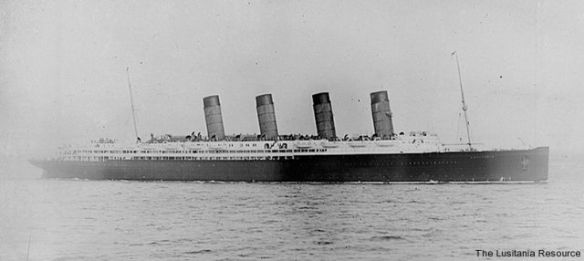 Lusitania courtesy of the Lusitania Resource