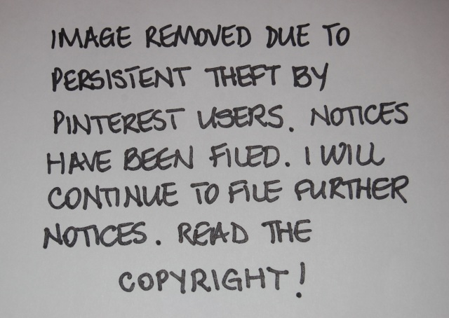 DMCA NOTICES WILL BE FILED WITH PINTEREST